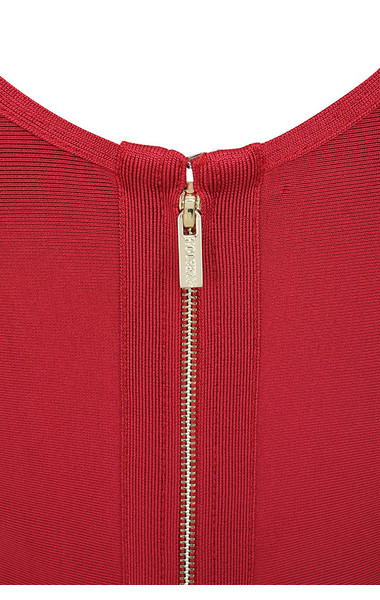 vitella red dress