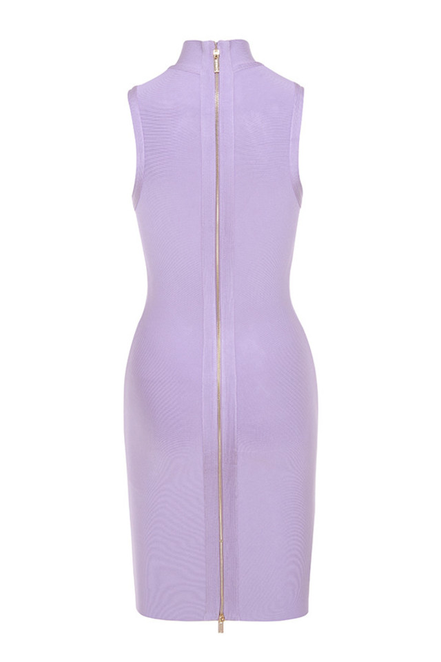 harun dress in lilac