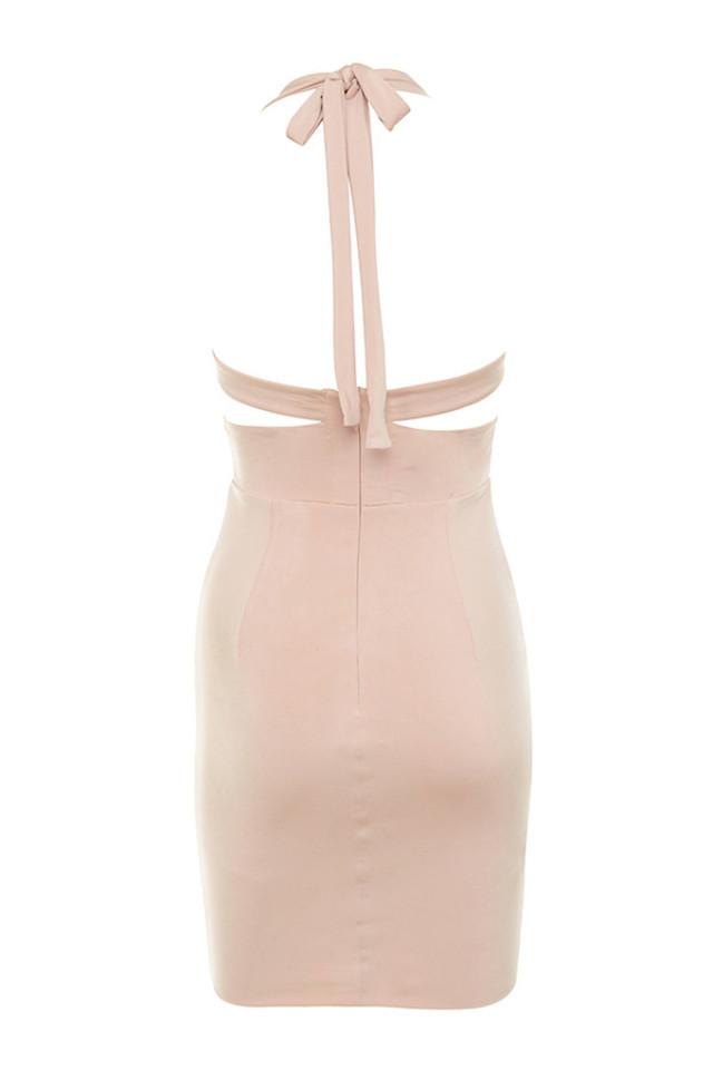 sidra dress in blush