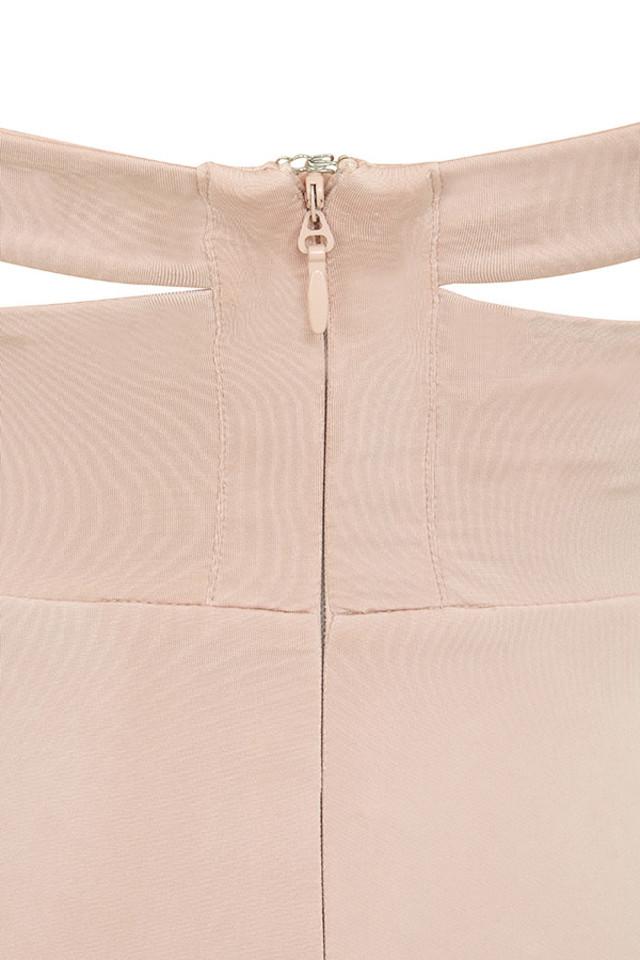 sidra blush dress