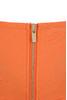 cascadia orange dress