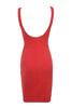 majka dress in red