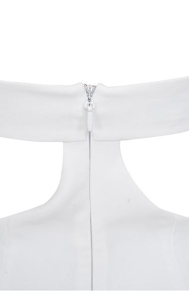 aretina white dress