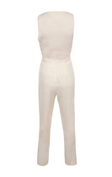 goya jumpsuit in cream