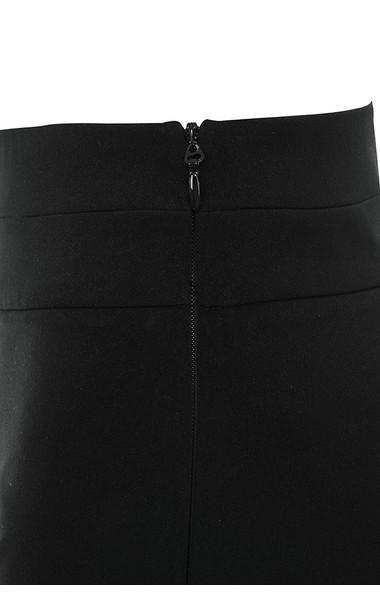 black persis trousers