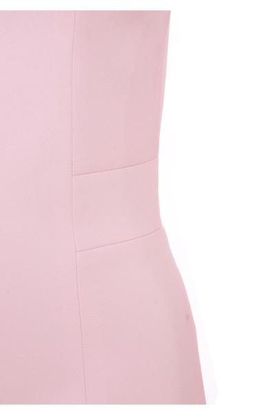 pink raina dress