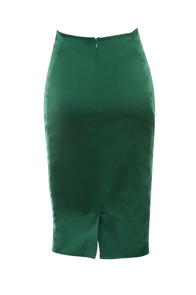 alten skirt in emerald