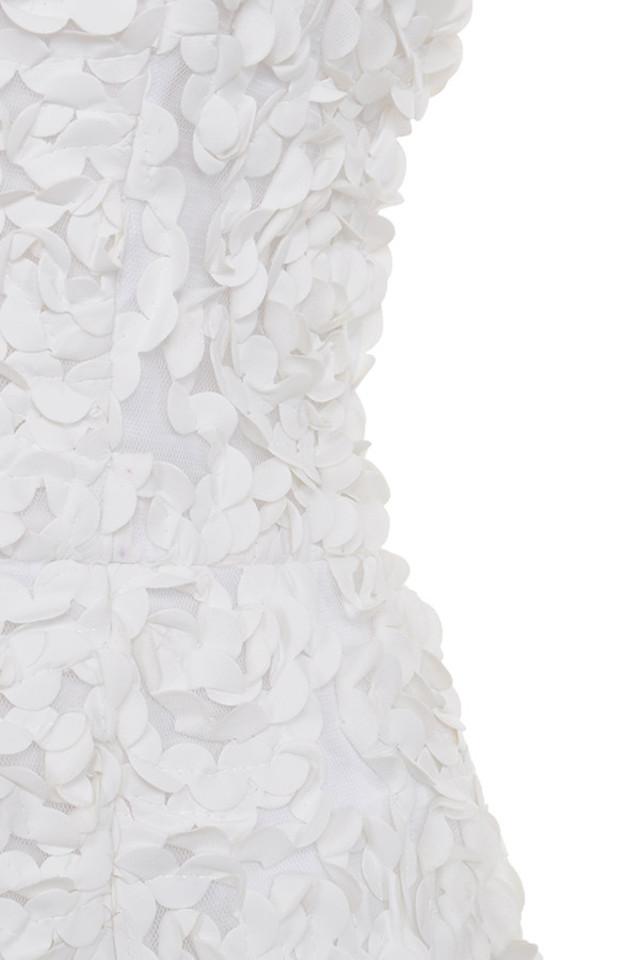 white desiree dress