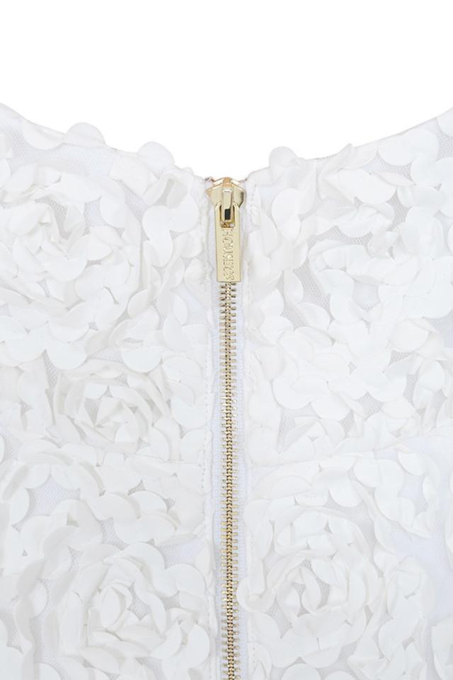 desiree white dress