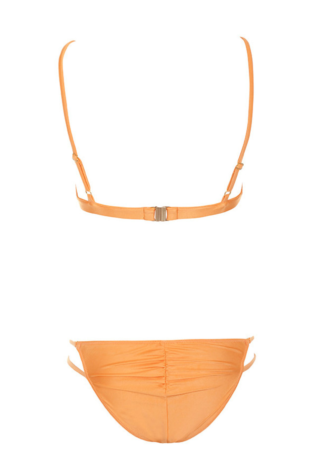 montpellier bikini in orange