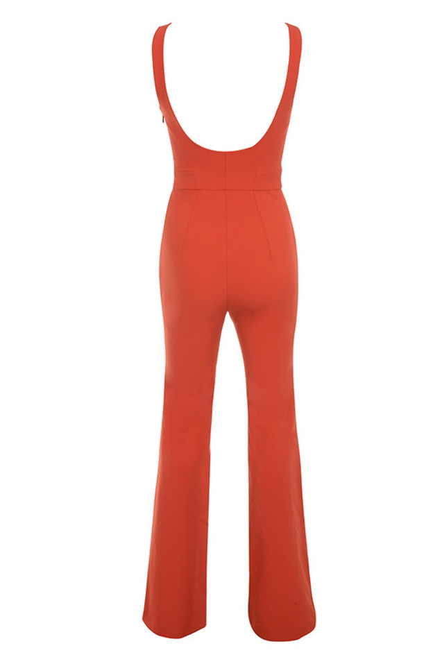 natalja jumpsuit in red
