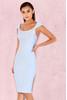 Anelle Powder Blue Bandage Dress
