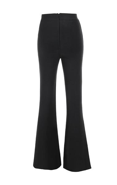 bardot trousers in black
