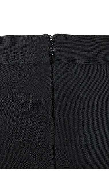 black bardot trousers