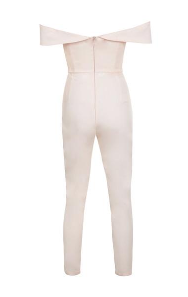 bella jumpsuit in blush