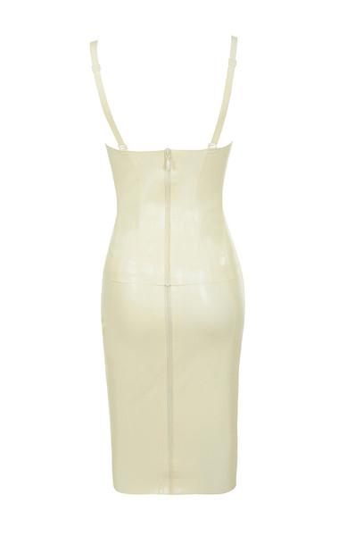 casmia dress in vanilla