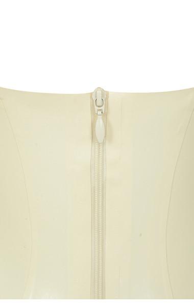 vanilla casmia latex dress