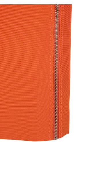 eliza orange dress