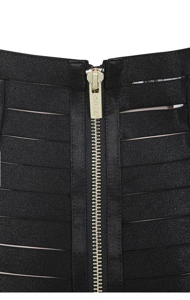 black mateia skirt