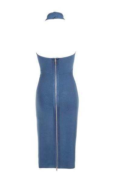 saffi dress in blue