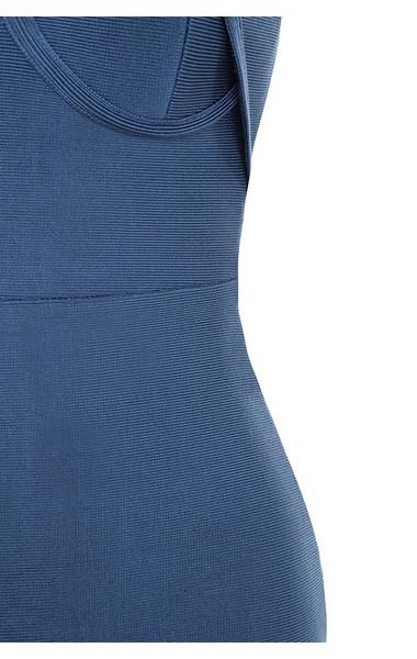 blue saffi dress