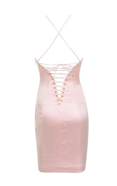 veronique dress in pink
