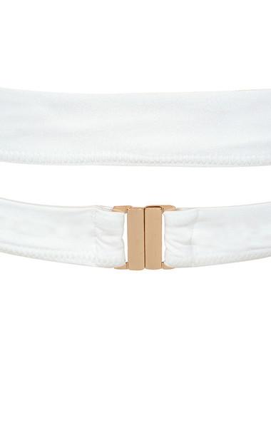 white virginie dress