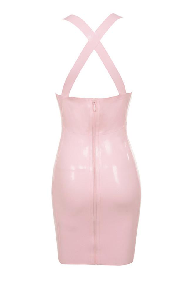 anissa dress in pink