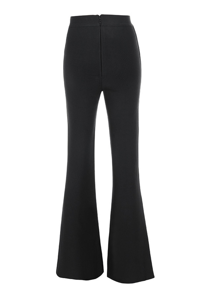 bardot trousers in black