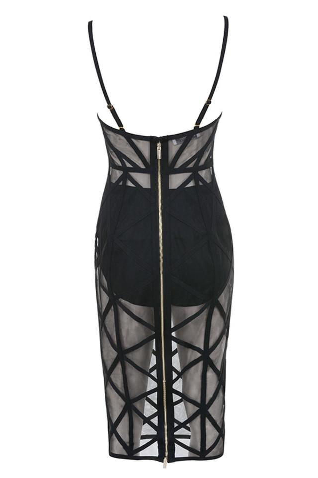 erene dress in black