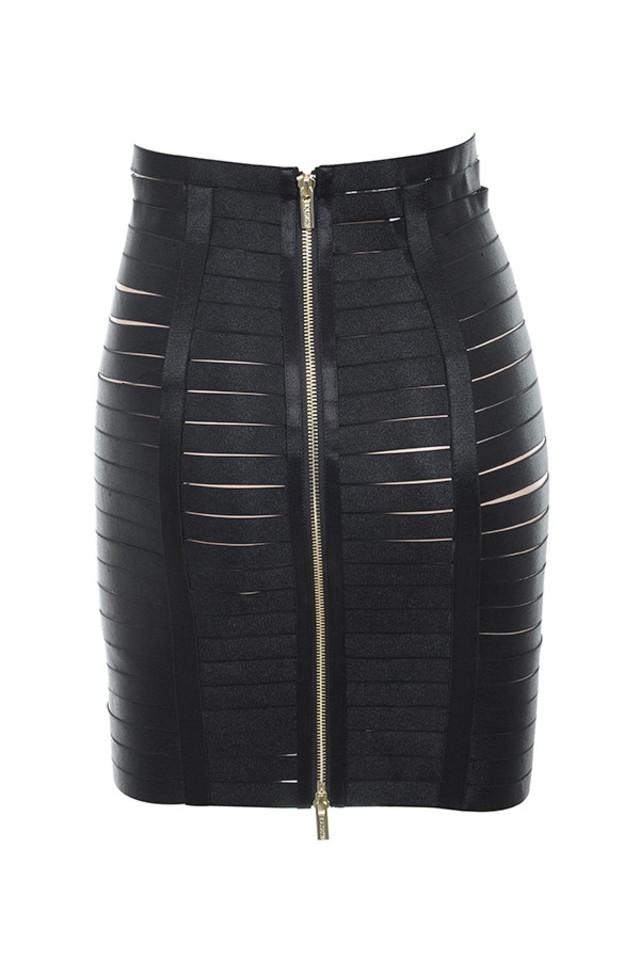 mateia skirt in black