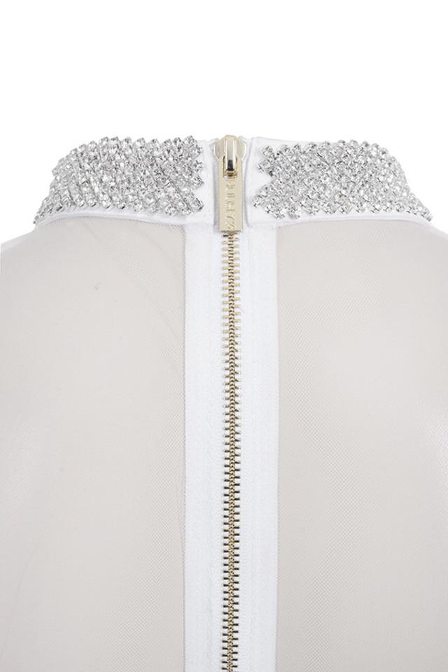 niseka white dress