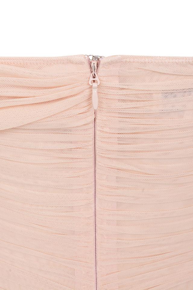tahan blush dress