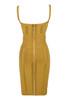belice dress in ginger