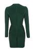 valeria dress in evergreen
