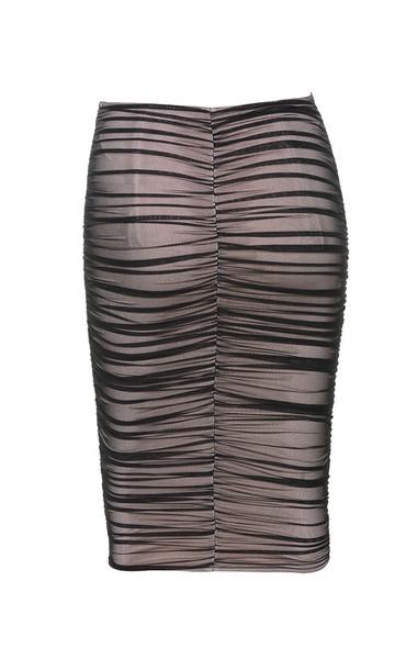 leonela skirt in black