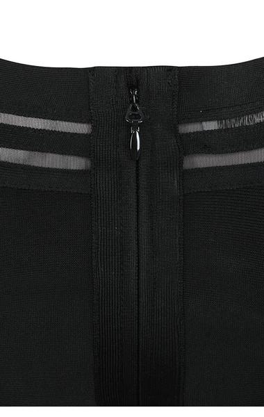 madrina black dress