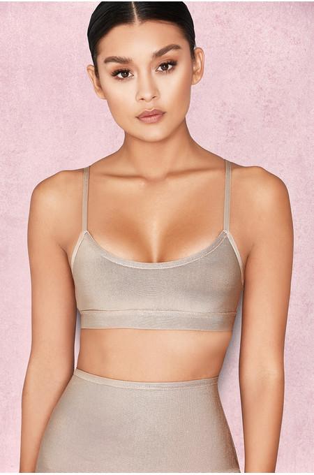 'Talisa' Nude Bandage Bra Top