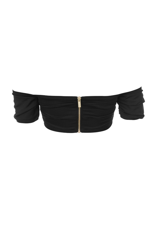evita top in black