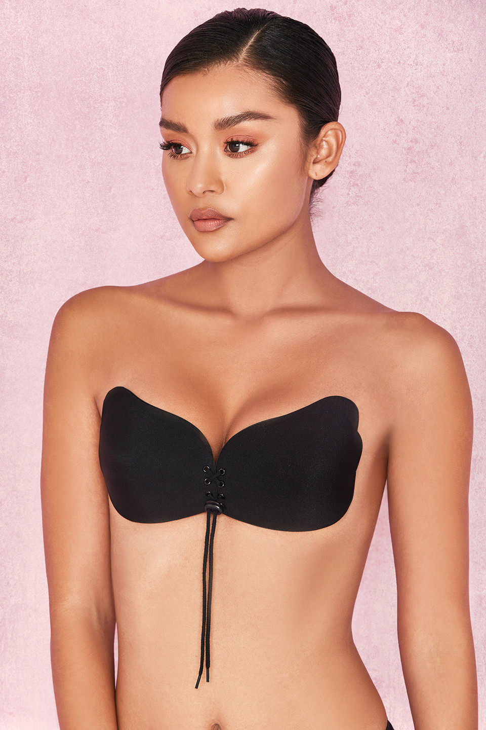 Ultra Black Push Up Invisible Bra