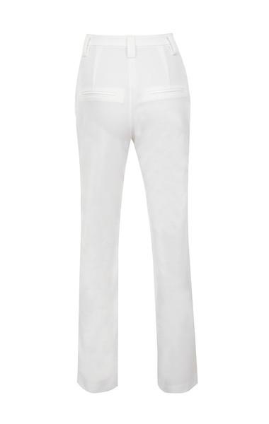 cristo trousers in white