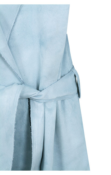 blue kiti coat