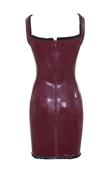 patrice dress in plum