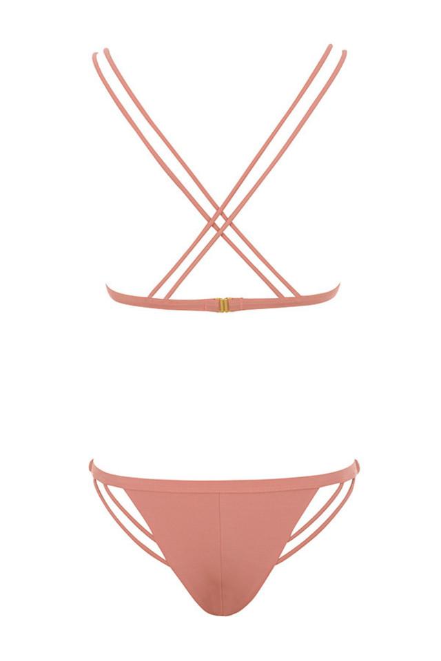 pinamar bikini in rust