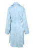 kiti coat in blue