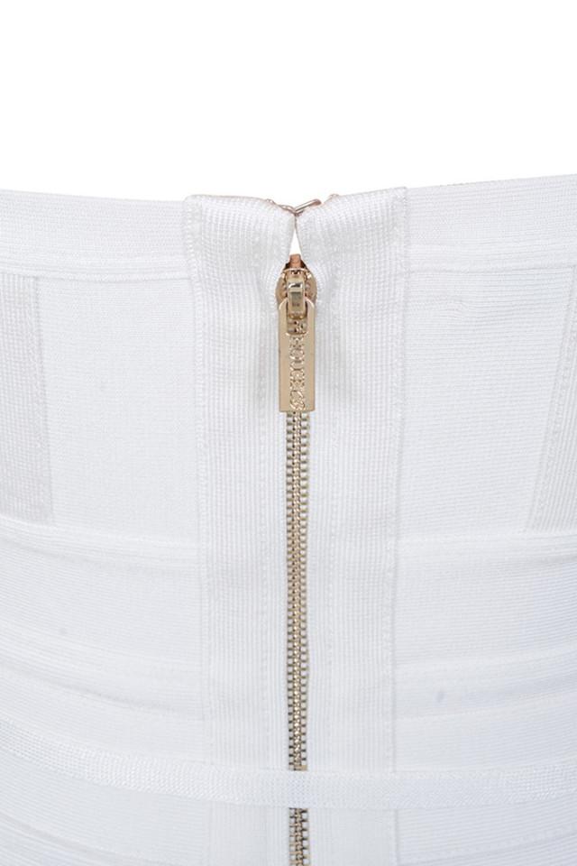 belice dress in white