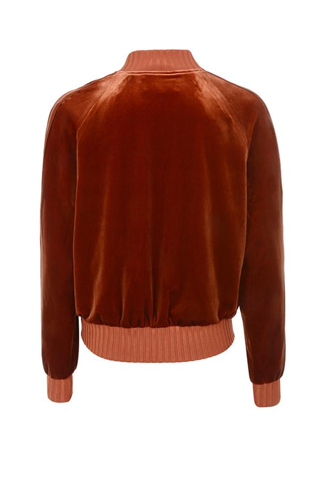 iria jacket in rust