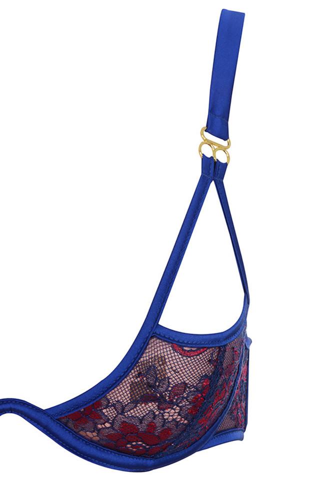 blue lusina bra