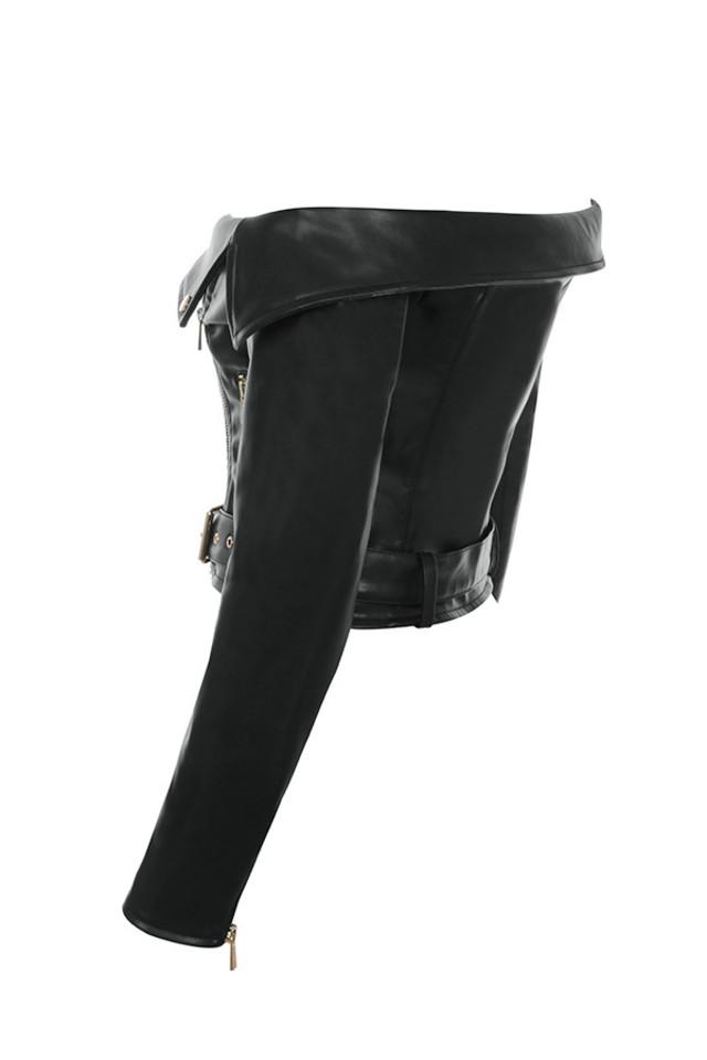 black romera jacket