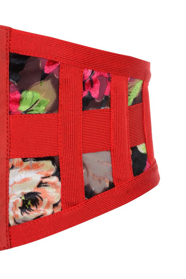 red salerna corset